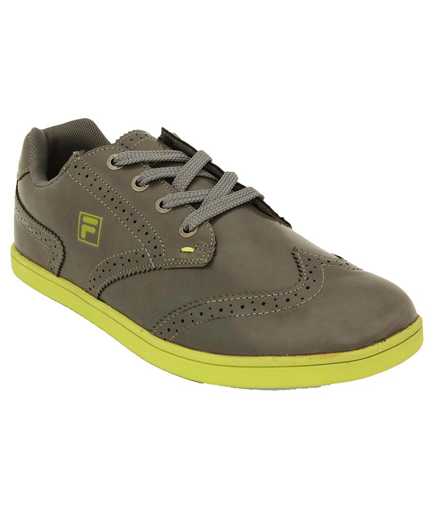 afa23ca14332 Fila Gray Lifestyle Shoes available at SnapDeal for Rs.1489