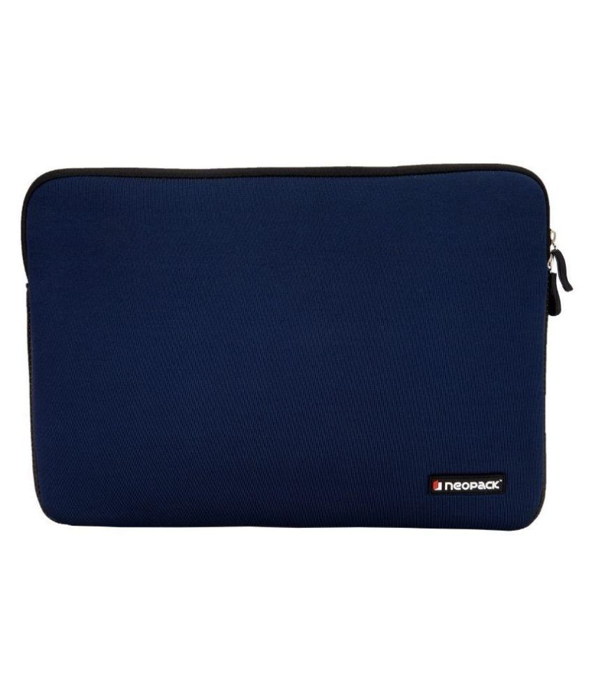 Neopack 2BL13 Blue Fabric Laptop Sleeve