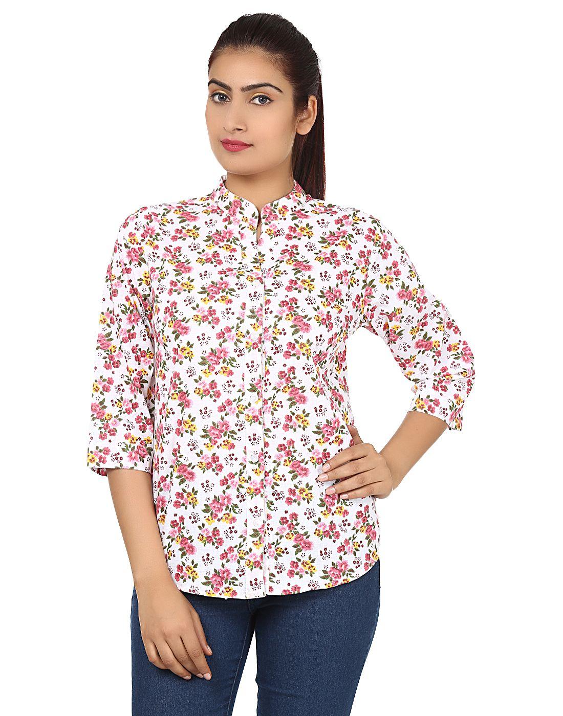 Vimlon Multi Color Cotton Shirts