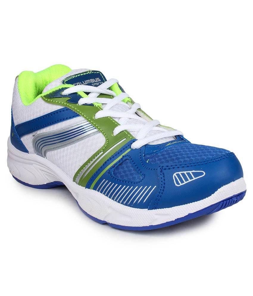 Columbus Green Sport Shoes