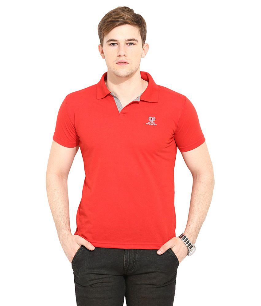 Duke Red Round T Shirt