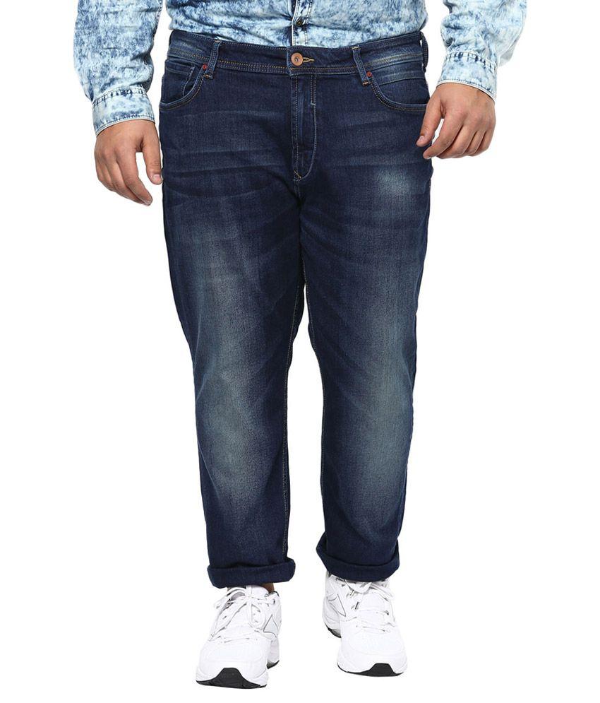 Alto Moda By Pantaloons Blue Slim Fit Jeans