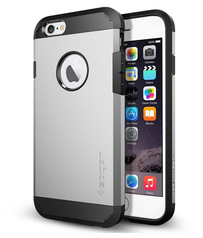 Spigen Back Cover for Apple iPhone 5 - Silver