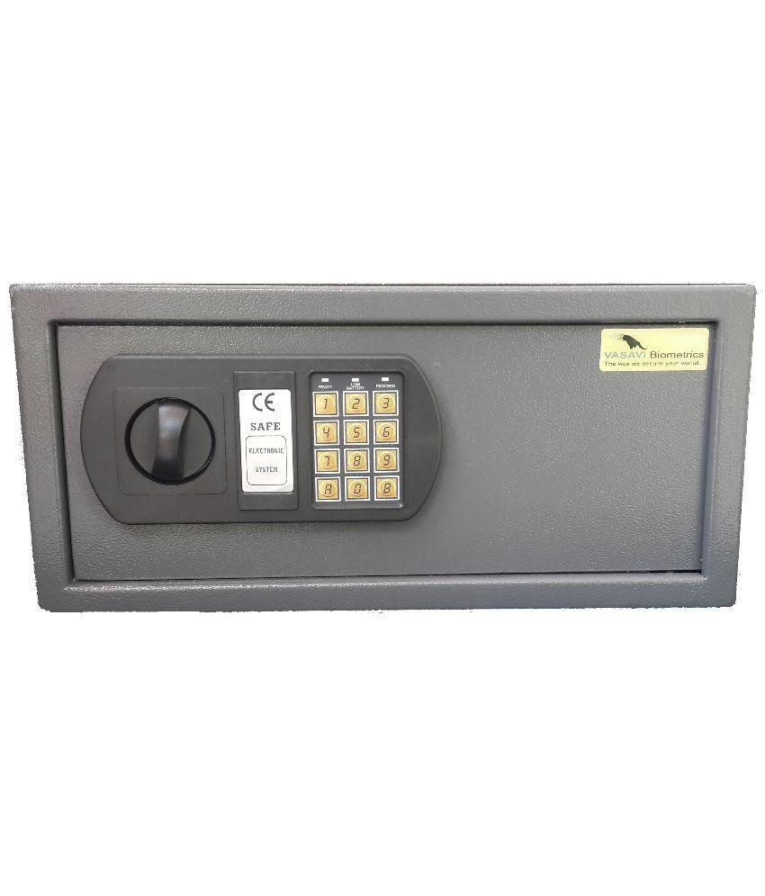 buy vasavi electronic keypad safe locker online at low price in india snapdeal. Black Bedroom Furniture Sets. Home Design Ideas