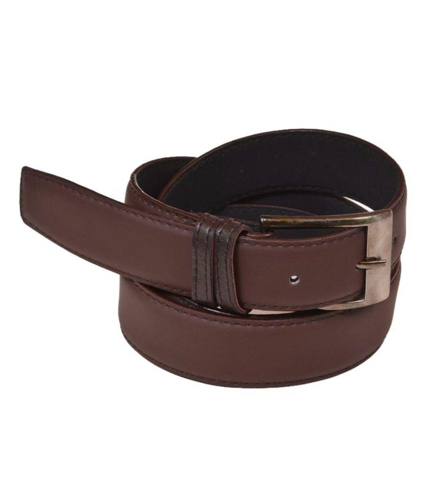 Daller Brown Non Leather Belt