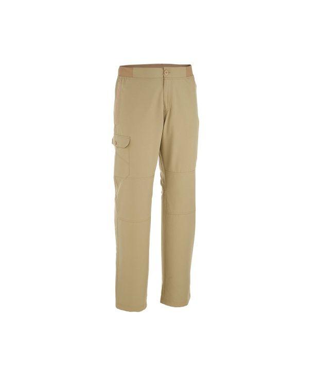 QUECHUA Arpenaz 50 Men's Hiking Trousers