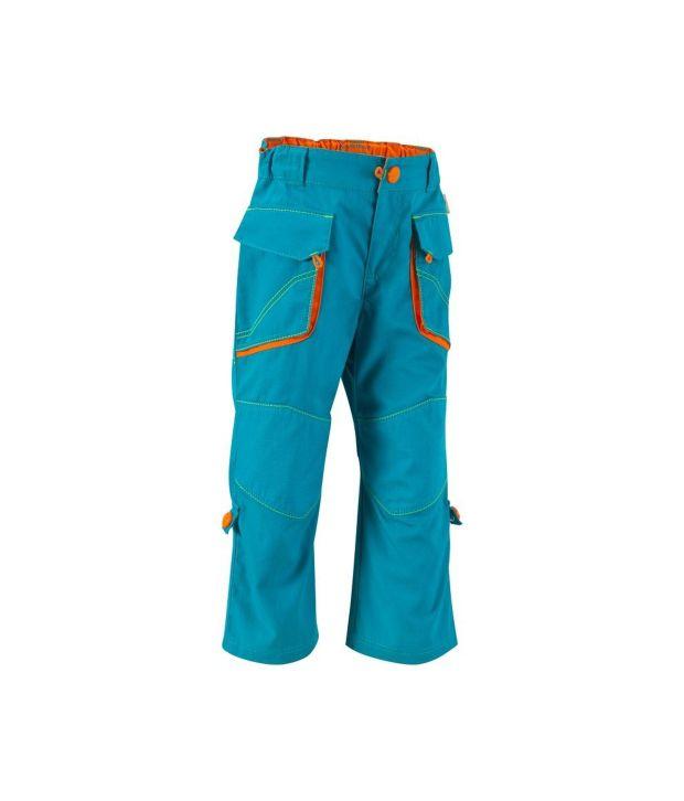 QUECHUA Forclaz 500 Kids Hiking Trousers