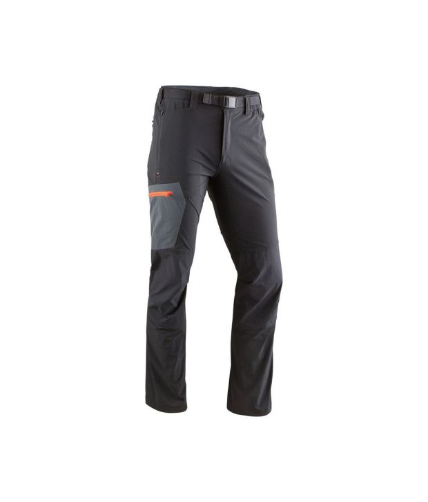 QUECHUA Forclaz 500 Men's Hiking Trousers By Decathlon