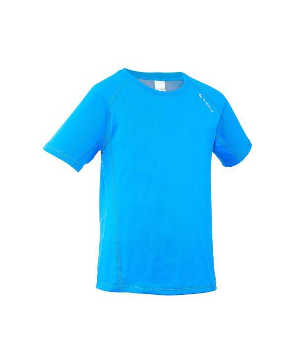 QUECHUA Hike 100 Kids Hiking T-Shirt