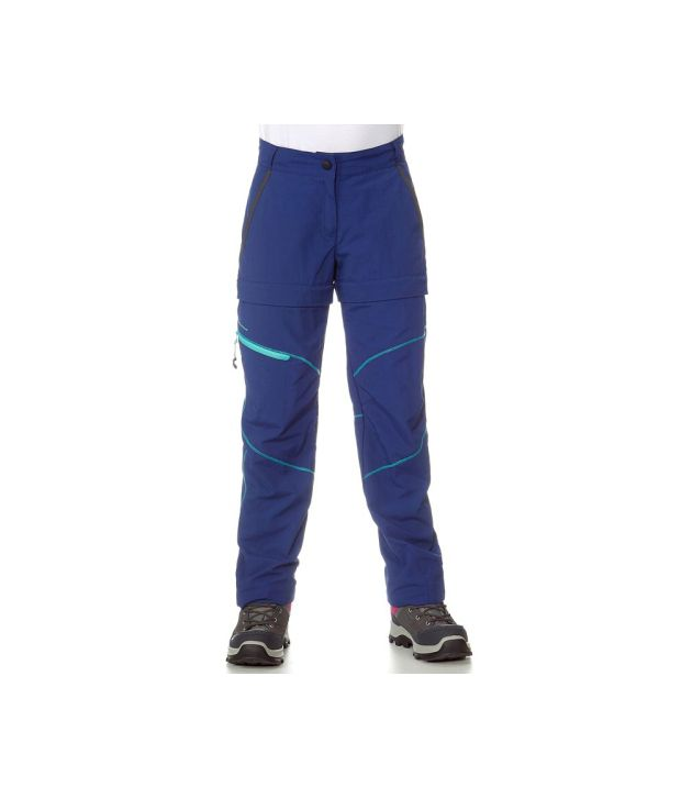 QUECHUA Hike 900 Kids Hiking Trousers