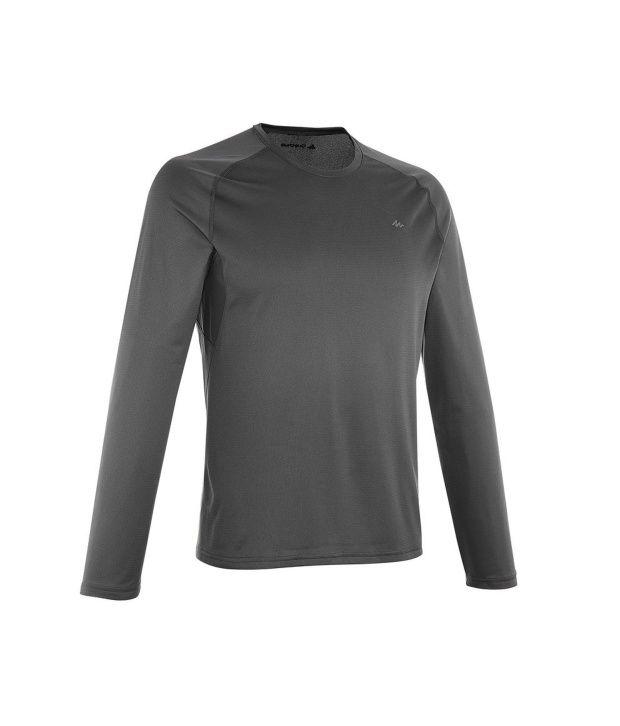 QUECHUA Techfresh 100 Men's Long Sleeve T-Shirt By Decathlon