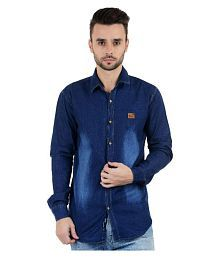 12316af85cc Denim Shirt  Jeans   Denim Shirts For Men UpTo 77% OFF - Snapdeal.com