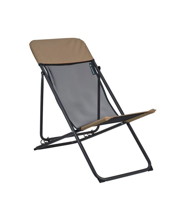 QUECHUA Relax Camping Chair By Decathlon Buy Online at Best Price on Snapdeal ~ 14011927_Camping Liegestuhl Decathlon