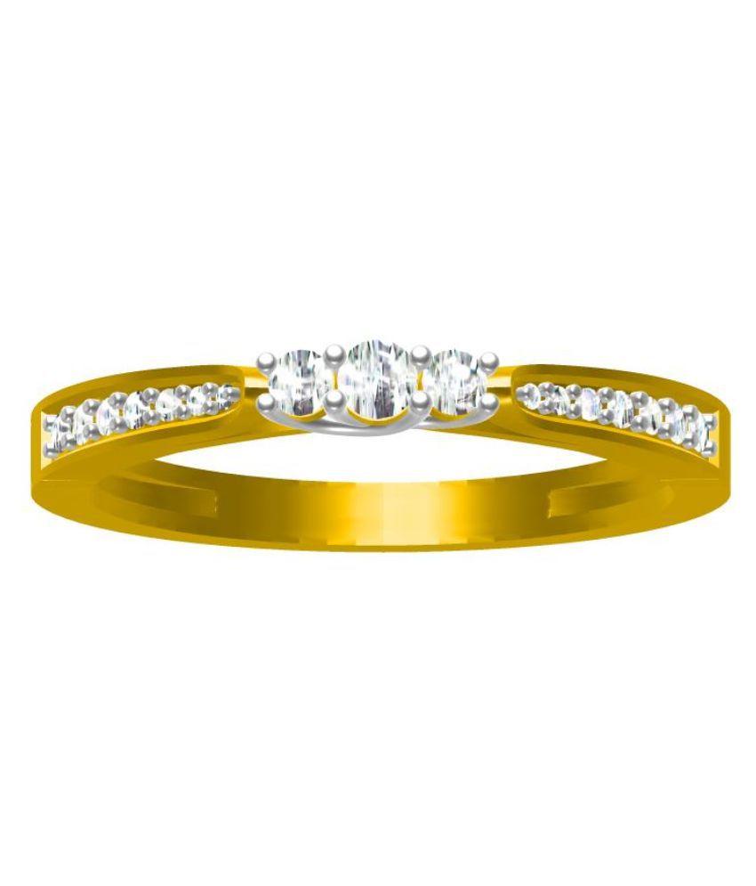 Sakshi Jewels Hallmarked 14kt Gold Ring