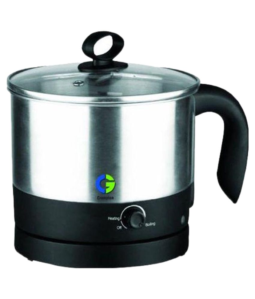 Crompton Greaves 1 Ltr Cg Km121 Fusion Kettle 1 2 Ltr Multi Functional Kettle Snapdeal Price