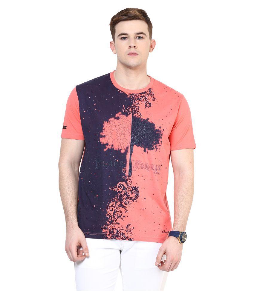 Fritzberg Pink Round T Shirt