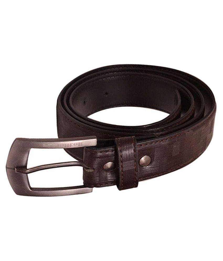 elligator brown pin buckle belt for buy at low