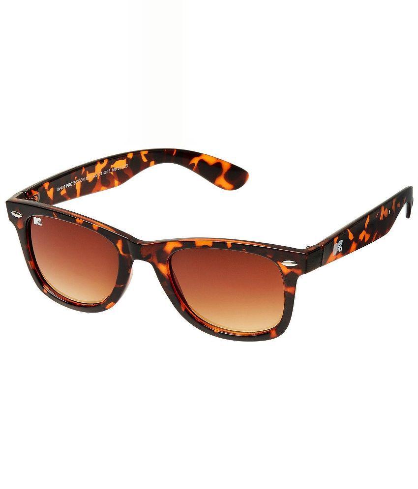 MTV Brown Square Sunglasses ( MTV-122-C4 )