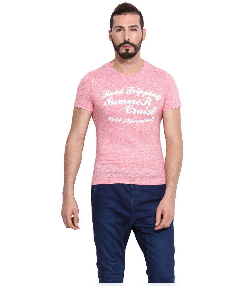 Camino Pink Round T Shirt