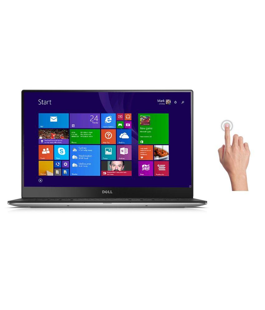 Dell XPS 13- Dino Notebook (Y561005IN9) (5th Gen Intel Core i7- 8GB RAM- 512GB SSD- 33.78 cm (13.3) Touch- Windows 8.1) (Silver)