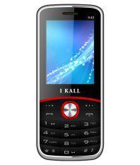 I KALL DUAL SIM 2.4 inch FEATURE PHONE K40-RedBlack