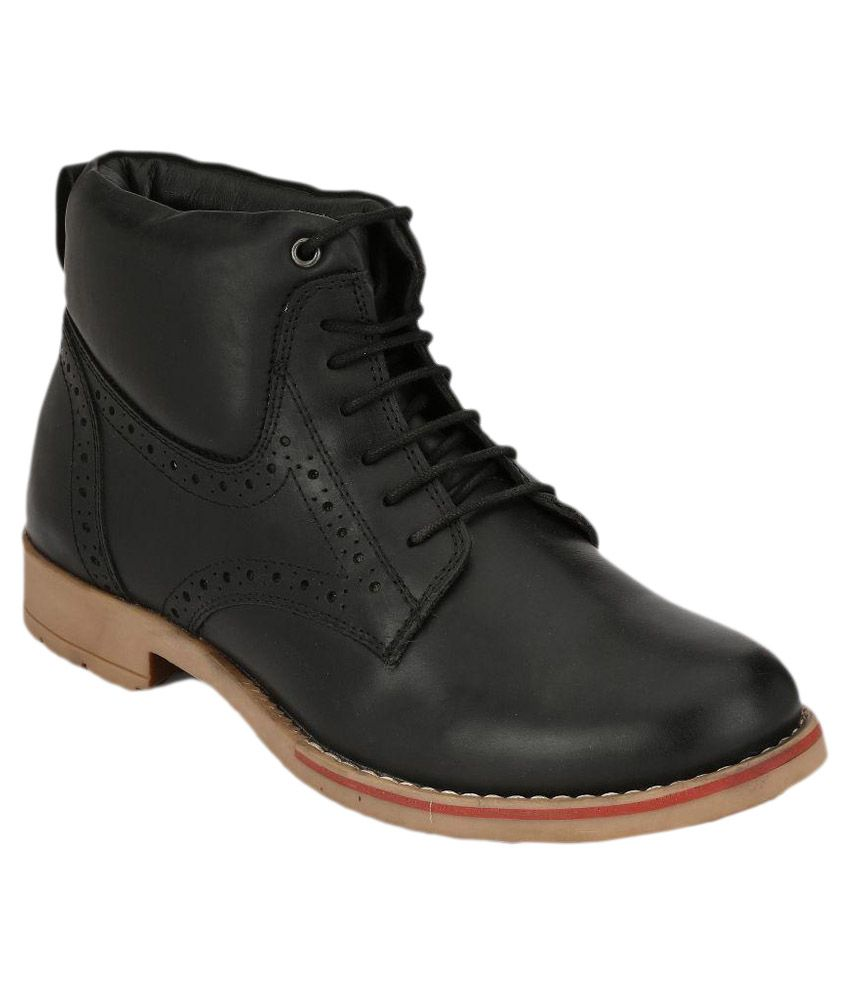 Boggy Confort Black Boots