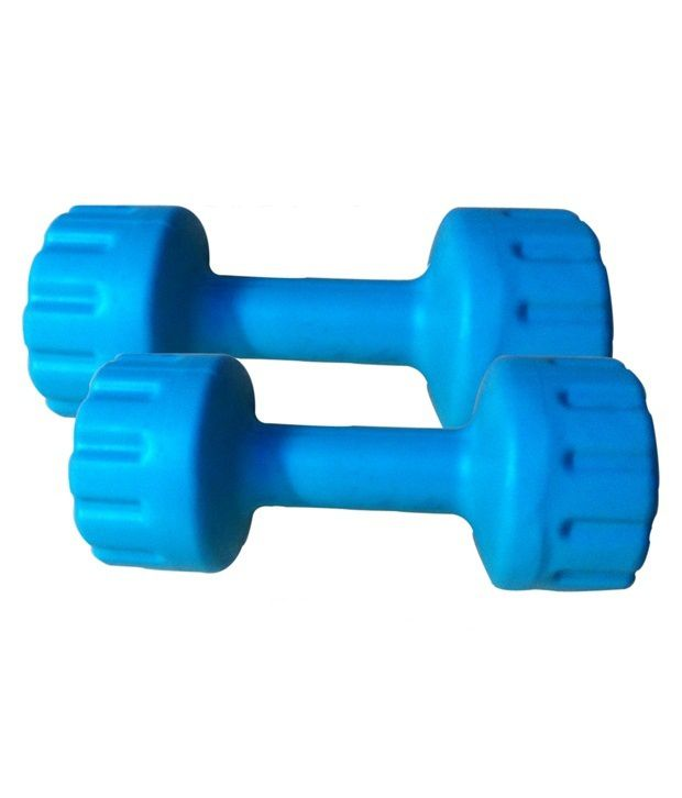 Dumbbell Set Big 5: Total Gym 10 Kg Pvc Dumbbell Set (5 Kg X 2): Buy Online At