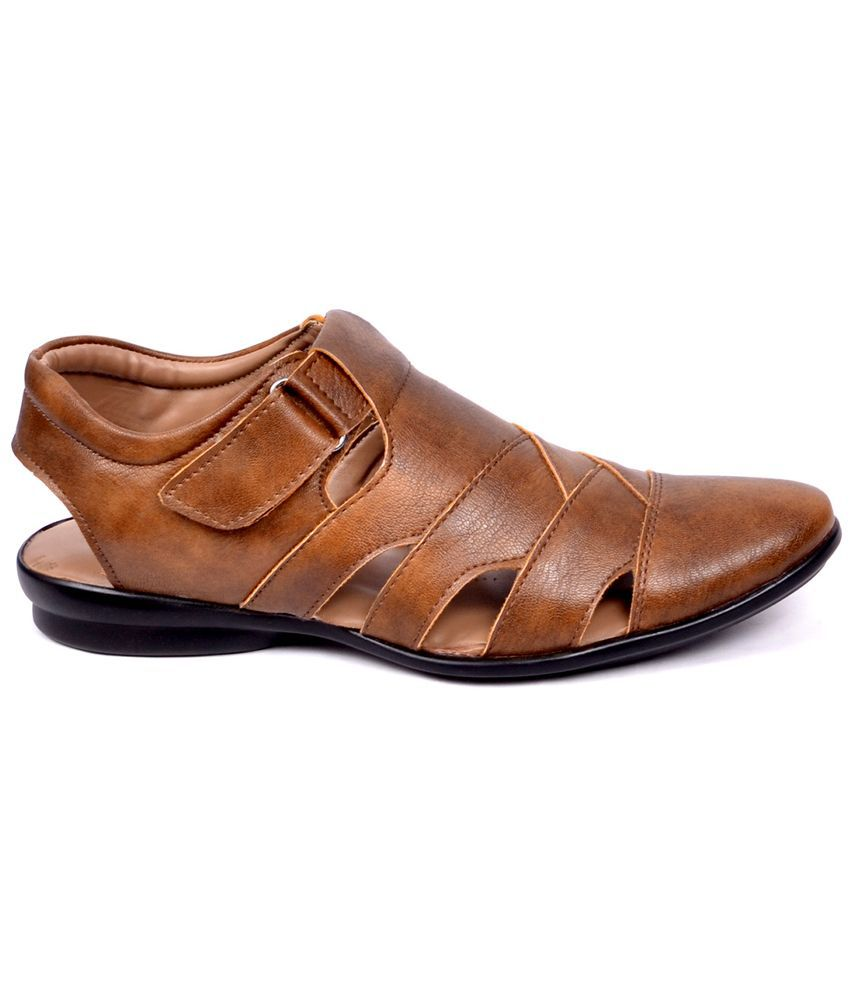 10c2356c18ea Peponi Brown Sandals Price in India- Buy Peponi Brown Sandals Online ...