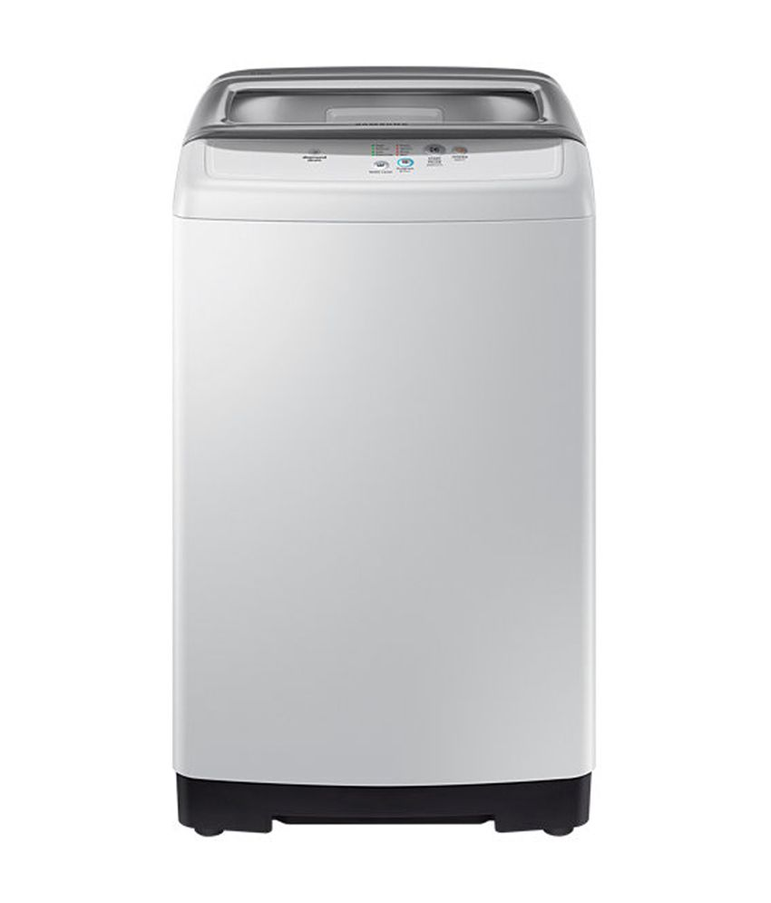 Samsung 6 Kg WA60H4100HY Fully Automatic Top Load Washing Machine Light Grey