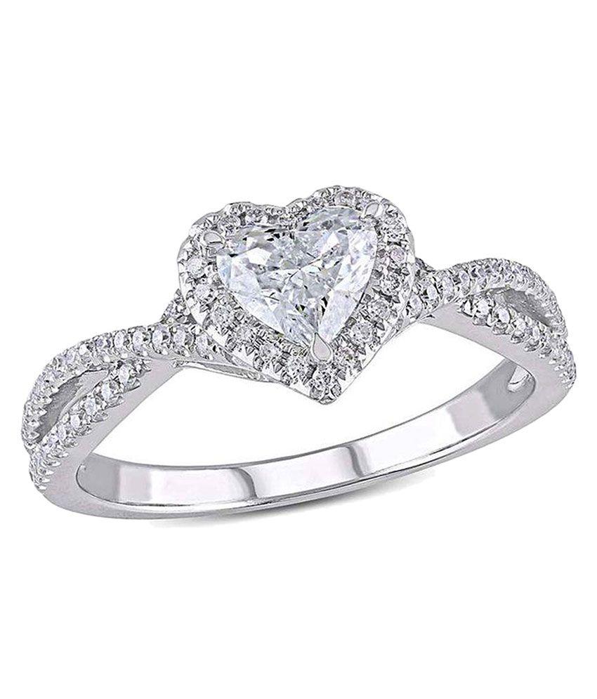 Kiara Jewellery 92.5 Sterling Silver Designer Ring