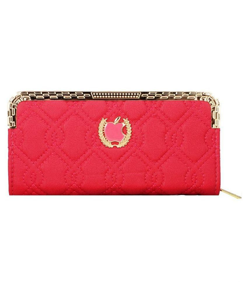Lizzie Pink Wallet