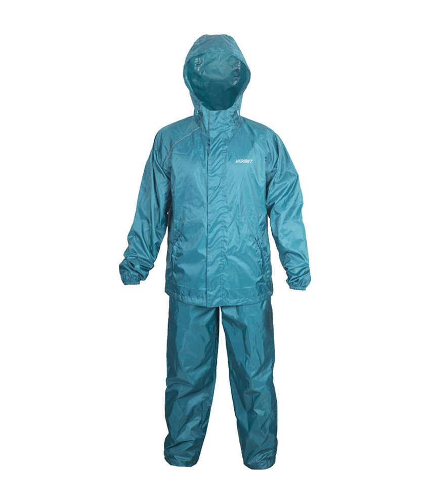 Wildcraft Basic Plus Rain Suit - Deep Blue