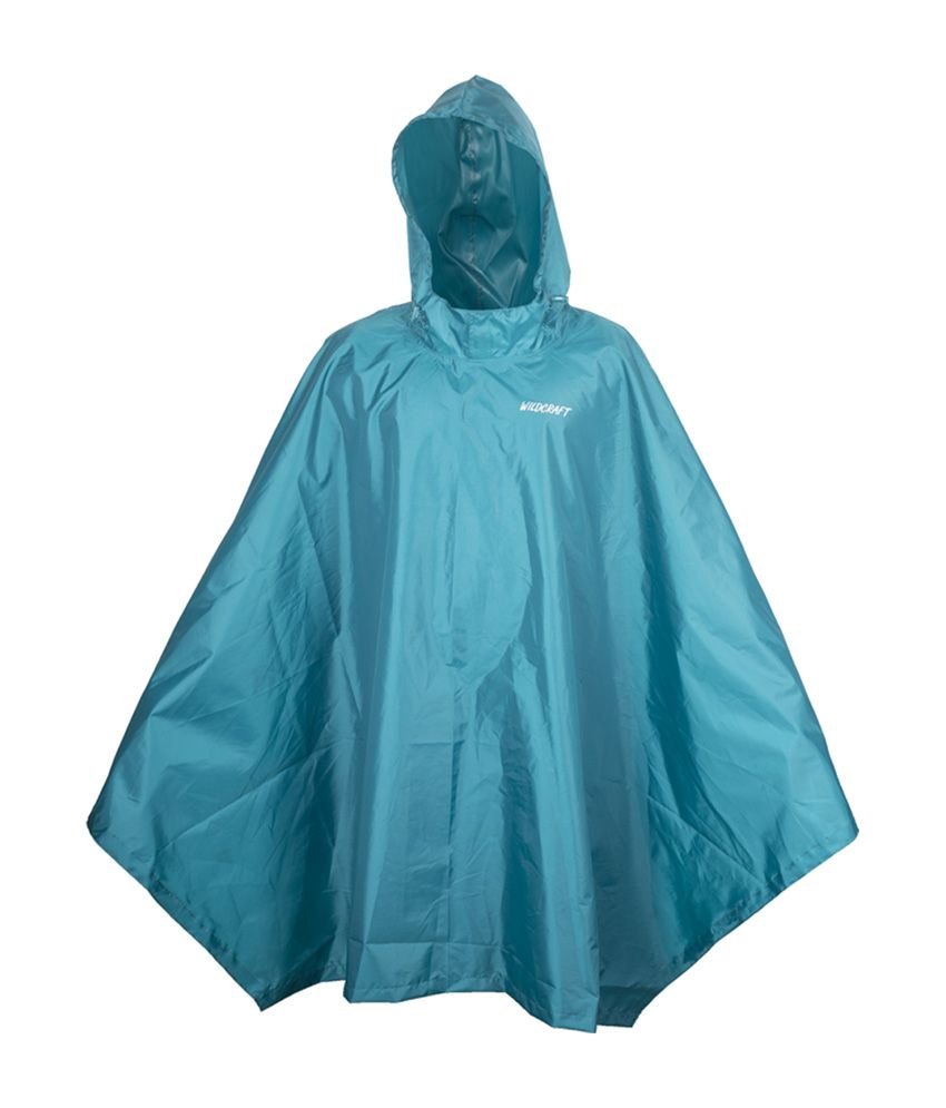 Wildcraft Basic Rain Poncho - Deep Blue