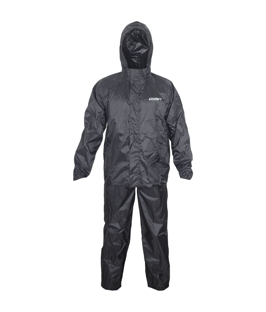 Wildcraft Basic Rain Suit - Anthracite