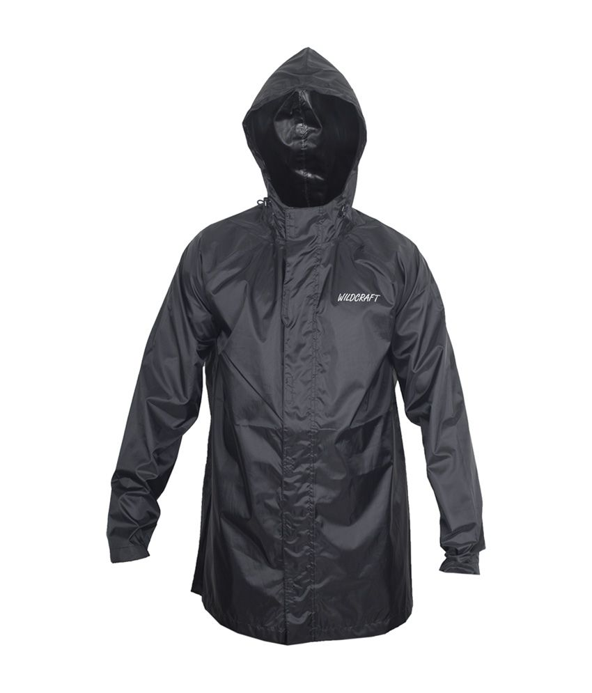 Wildcraft Basic Raincoat - Anthracite