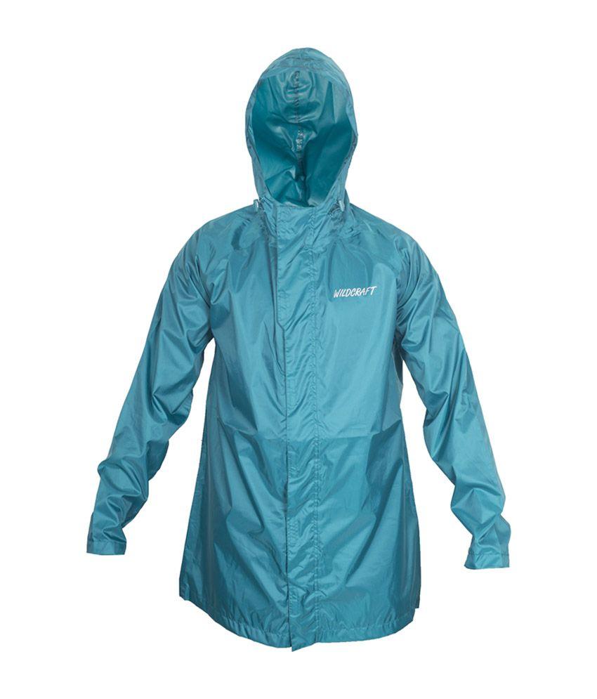 Wildcraft Basic Raincoat - Deep Blue