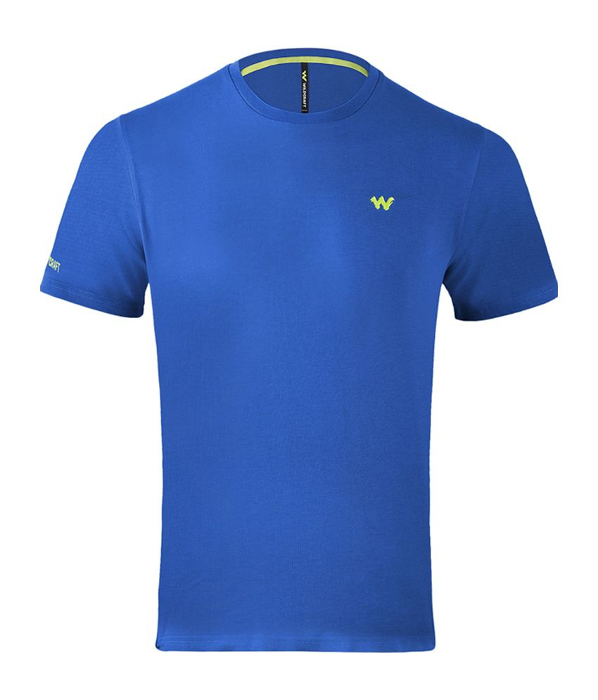 Wildcraft Essential Men's T-Shirt - Blue
