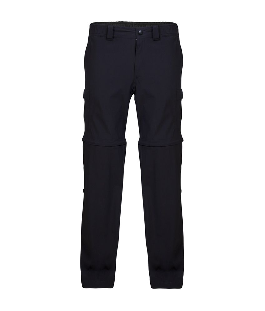 Wildcraft Men's Convertible Pant - Black