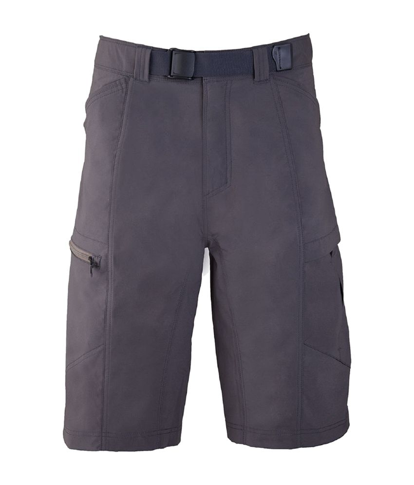 Wildcraft Men's Hiking Bermuda Shorts - Grey