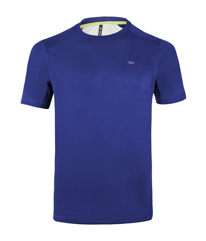 Wildcraft Men's Hiking T-Shirt - Blue