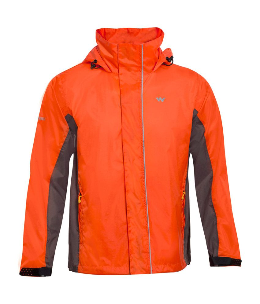 Wildcraft Orange Rain Jacket