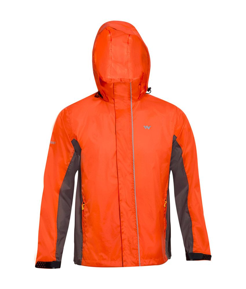 d28ba53d8 Wildcraft Orange Rain Jacket