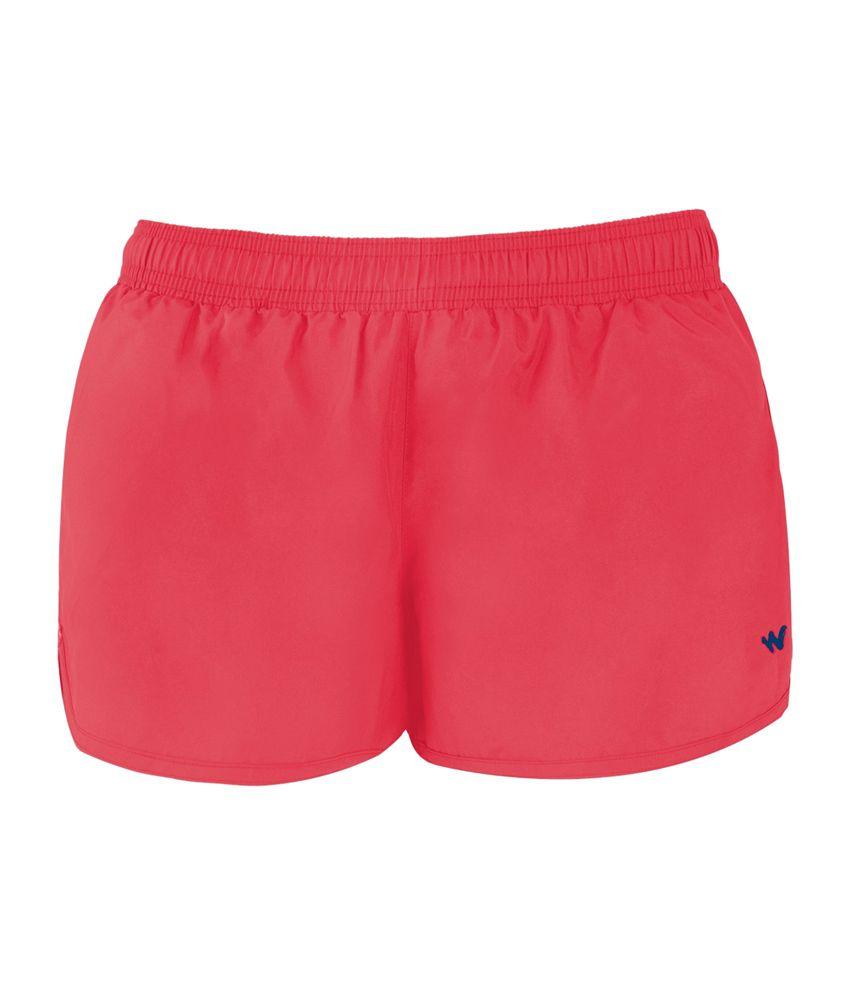 Wildcraft Women's Active Shorts - Red