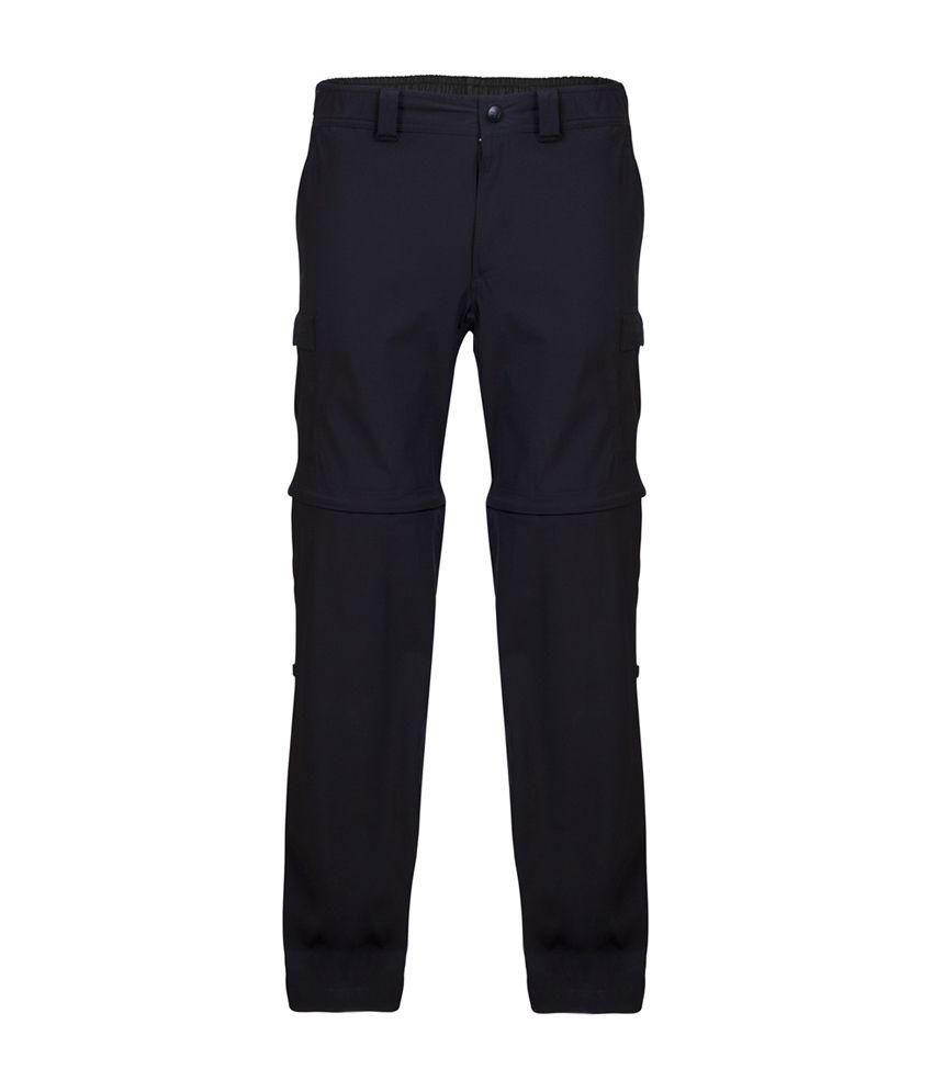 Wildcraft Women's Convertible Pant - Black