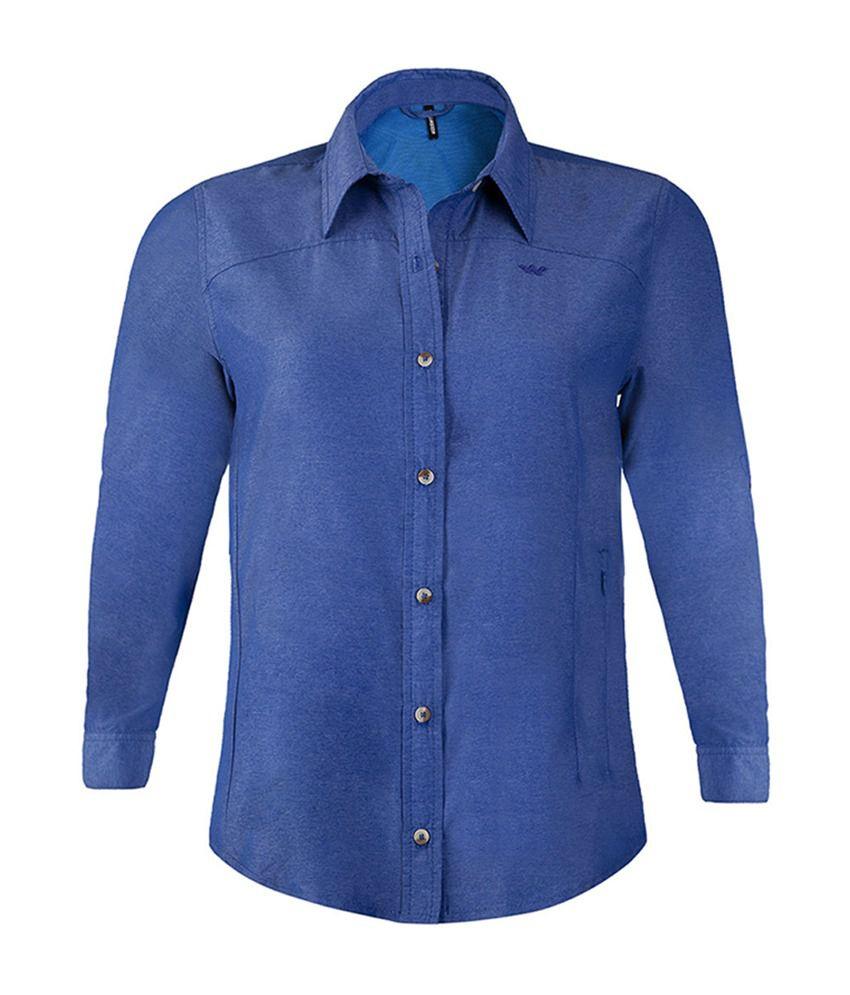 Wildcraft Women's FS Hiking Shirt - Blue