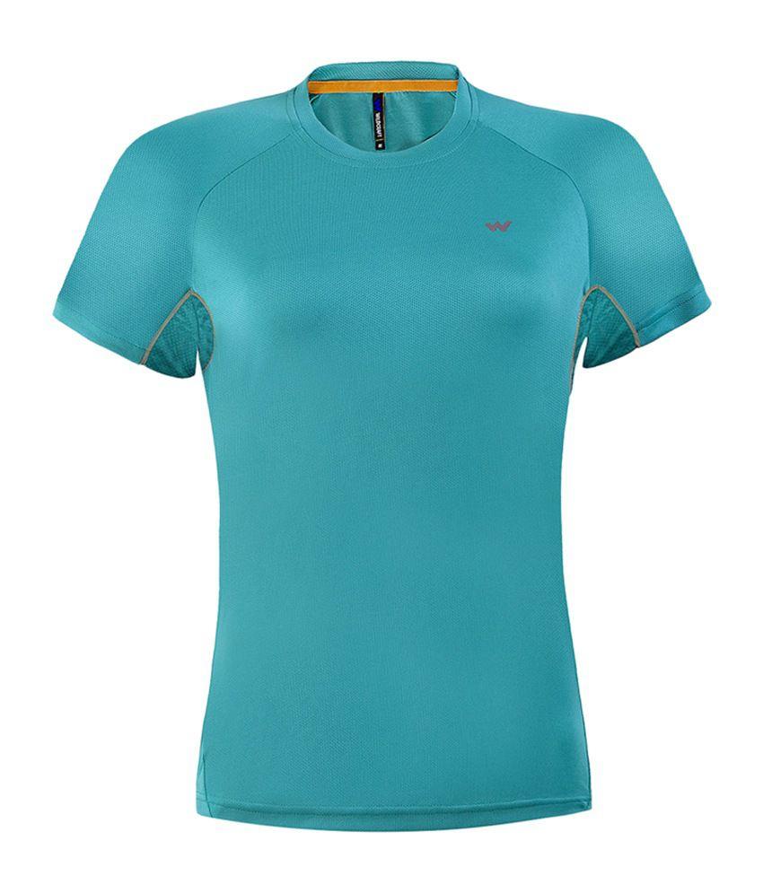Wildcraft Women's Hiking T-Shirt - Green
