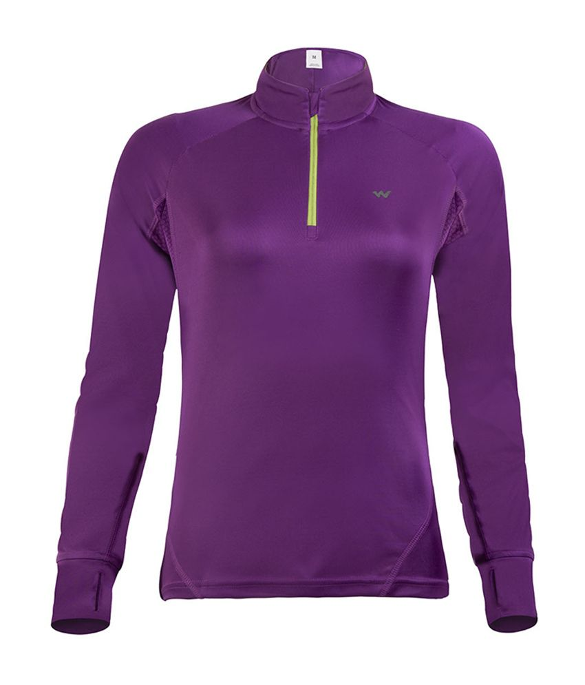 Wildcraft Women's Hiking T-Shirt - Purple