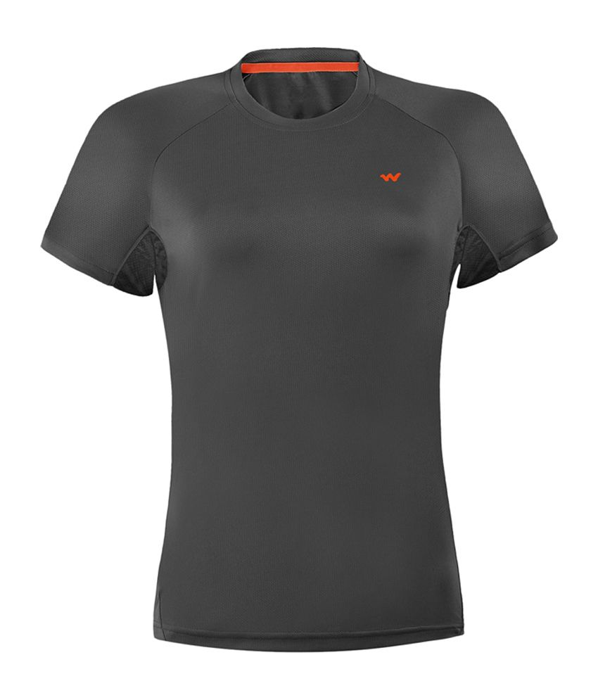 Wildcraft Women's Hiking T-Shirt - Black