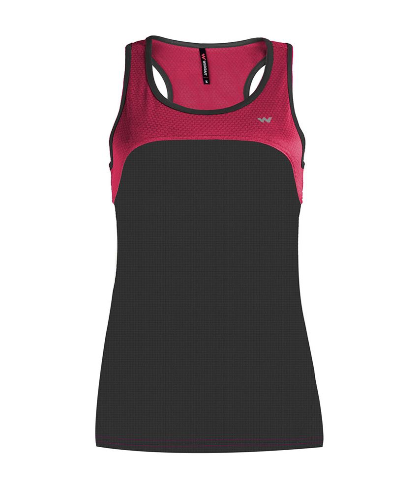 Wildcraft Women's Runner Tank Top - Black