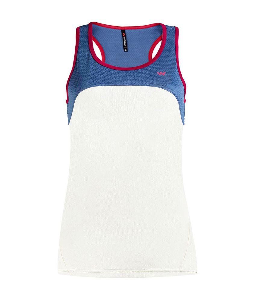 Wildcraft Women's Runner Tank Top - White